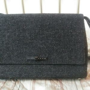 Kate Spade New York Wool Bag with Leather Strap!